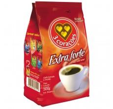Café 3 Corações Extra Forte - Pacote 500g