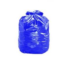 Saco para lixo 110 litros lp. azul