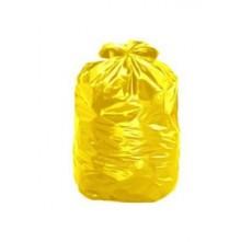 Saco para lixo 200 litros lp. amarelo